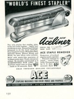 Ace Fastener and Manufacturing, Inc.