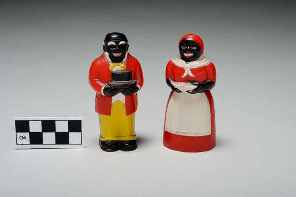 Aunt Jeminma and Uncle Mose salt and Pepper Shakers (1949)