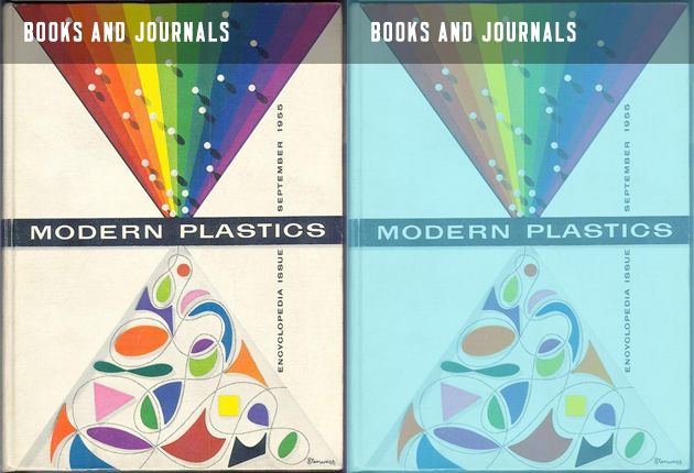 Books and Journals of the Modern Plastics book