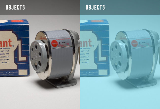 Objects image showing a pencil sharpener
