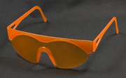 Select Molded One-Piece Hinged Disposable Sunglasses