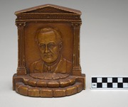 Select Bookend with Franklin Roosevelt Portrait