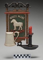 Select White Mare Tavern Sign Wall Decoration