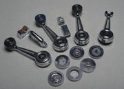 Select Automobile door handles and window cranks