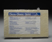 Select Dens-Glass Gold drywall sample