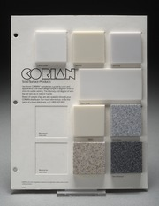 Select Corian Samples on Mount